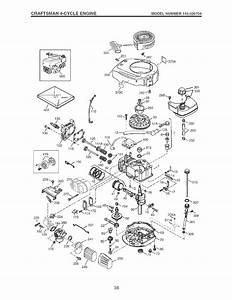 Craftsman 917773753 User Manual High Wheel Weed Trimmer