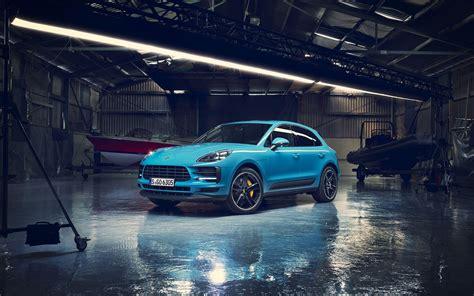 Porsche Macan Backgrounds by Wallpapers Porsche Macan S Tuning 2018 Cars