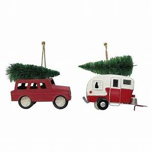 Truck Camper Ornaments Christmas 2015 Tree Decorating