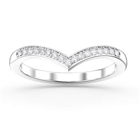 wishbone wedding ring platinum unity wishbone platinum wedding ring jian