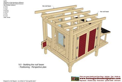 home garden plans  xx large chicken