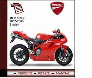 Ducati 1098    1098s 2007-2008 Service Manual