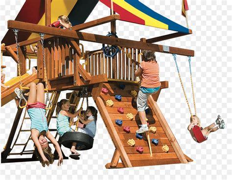Playground Slide Backyard Playworld Swing Rainbow Play