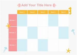 Grid And Matrix Graphic Organizer