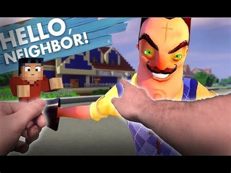 hello neighbor realistic new neighbor and his secret
