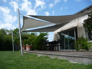 voile d ombrage de terrasse accueil design et mobilier