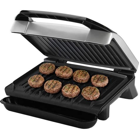 electric indoor grill george foreman 120 quot variable temp electric grill indoor countertop bbq cooker 82846038126 ebay