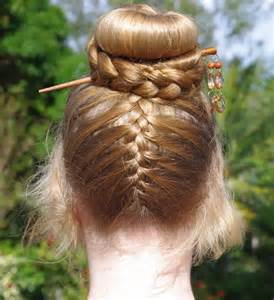 French Braid Hairstyles Down with Hair