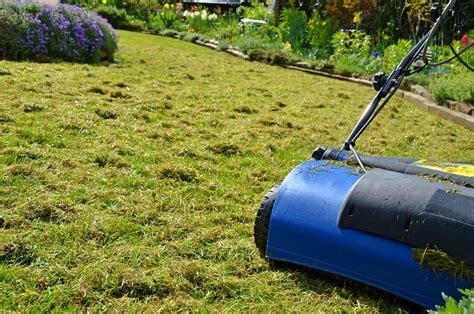 Rasen Vertikutieren Sommer by Rasenpflege Im Fr 252 Hjahr Herbst Sommer Winter Inkl