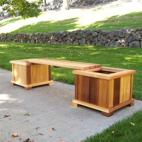 wooden garden boxes large wooden planters for patio decoration margarite gardens