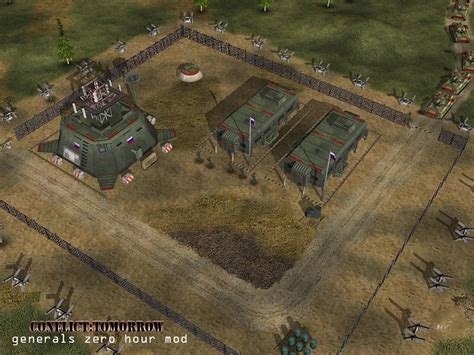 outpost russian conflict mods tomorrow mod generals zero hour embed conquer command