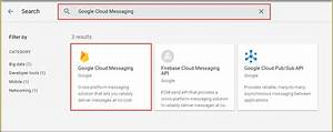 Azure Notification Hubs 및 Google Cloud Messaging을 사용하여 ...