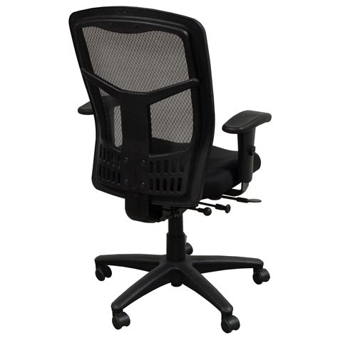 office products progrid used mesh back task chair