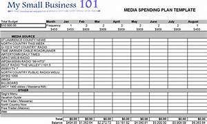 advertising plan templates download free premium With advertising media plan template