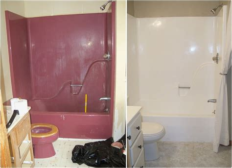 enameling  maroon bathtub refinish bathtub yellow