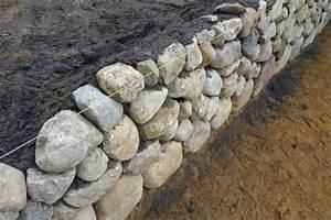 Steine Für Trockenmauer : trockenmauer bauen artenvielfalt im garten ~ Michelbontemps.com Haus und Dekorationen