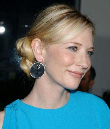 cate blanchett   hair styled smoothly