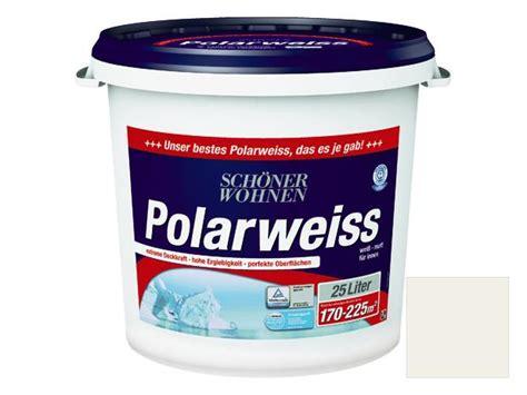Schöner Wohnen Polarweiss 25 L by Sch 246 Ner Wohnen Polarwei 223 Wei 223 25 L Matt