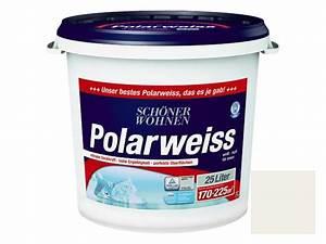 Schöner Wohnen Farbe Polarweiss 25 L : sch ner wohnen polarwei wei 25 l matt ~ Orissabook.com Haus und Dekorationen