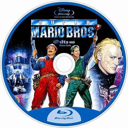 Mario Bros Super Fanart Tv Movies Disc