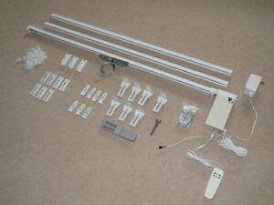 remote electric motorized window drapery diy track ebay