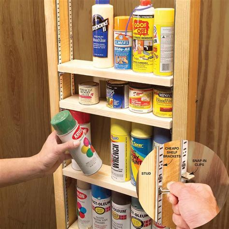 Garage Shelving Between Studs by Clutter Busting Strategies For Every Room Simple Diy