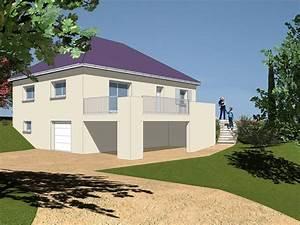 Sous Sol Maison : modele maison plain pied sur sous sol 707 univia ~ Melissatoandfro.com Idées de Décoration