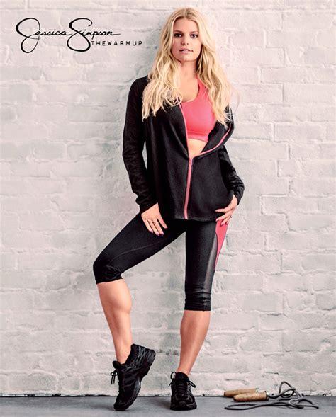 jessica simpson shows    activewear