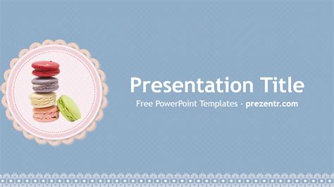 macarons powerpoint template prezentr powerpoint