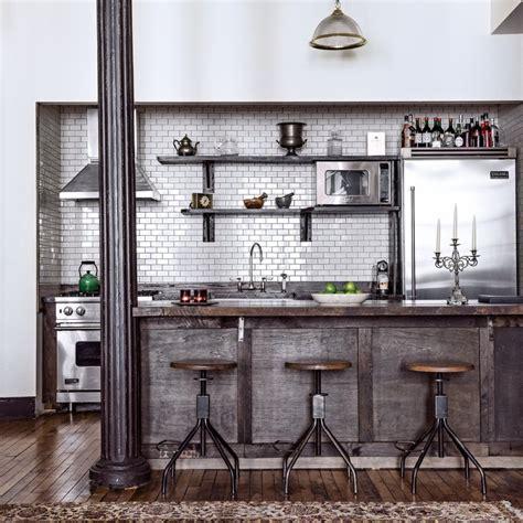 faience cuisine ancienne 10 inspirations pour une cuisine industrielle