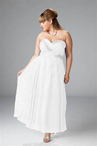 informal plus size wedding dresses 15 With plus size informal wedding dresses