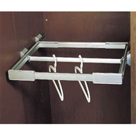 Pull Out Closet Rod by Fourwinds Aw5105bf Pull Out Closet Rod Supporter