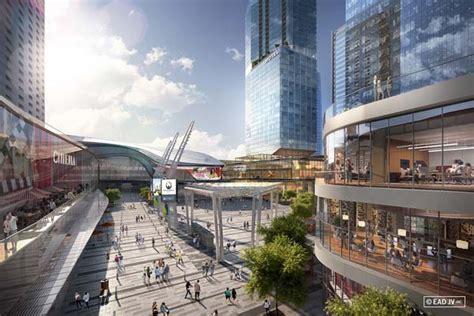 un nouveau centre ville ultra moderne 224 edmonton carri 232 res en construction