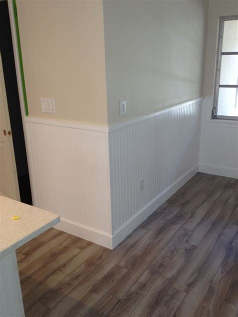 Chair Rail Wainscoting by Wainscoting Chair Rail