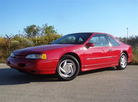 how cars engines work 1994 ford thunderbird lane departure warning hemmings find of the day 1994 ford thunderbird super coupe blog hemmings com