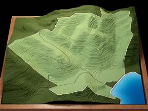 Topographic Map 3d Model | www.pixshark.com - Images ...