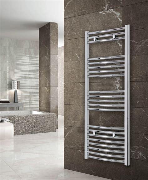 luca curved towel radiator aqualla brassware