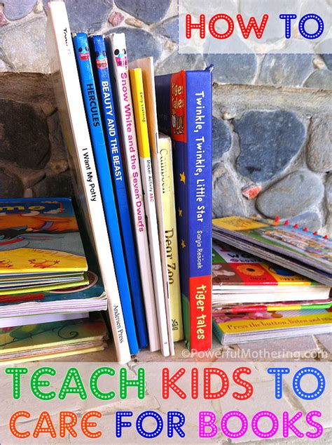 How To Teach Kids To Care For Books
