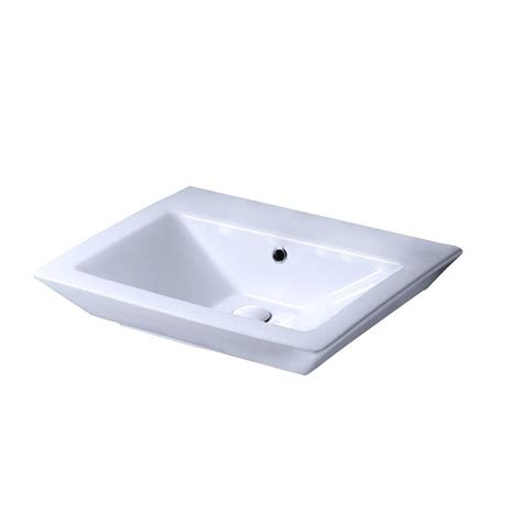 barclay products aristocrat 18 1 2 in pedestal sink basin