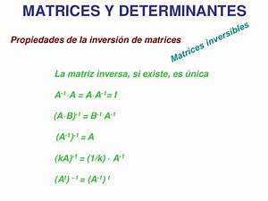 Inverse Matrix Berechnen Determinante : matrices y determinantes ~ Themetempest.com Abrechnung