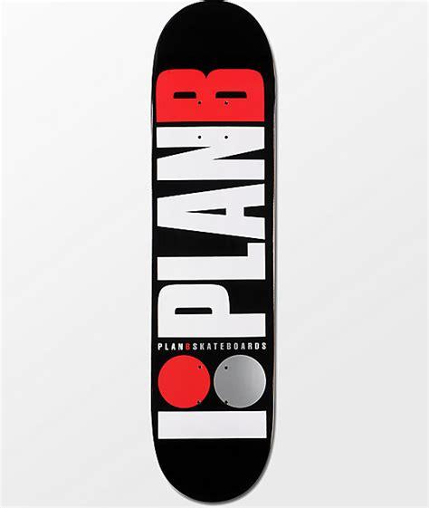 """Plan B Team Og 775"""" Black Skateboard Deck Zumiez"""