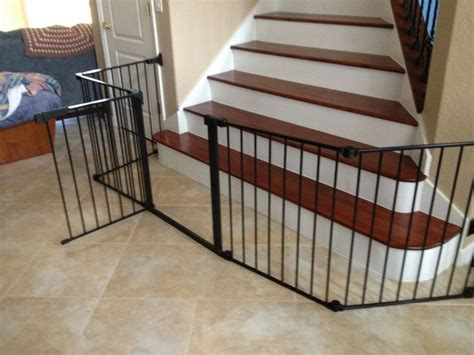 baby gates for bottom of stairs with banister best 25 baby gates stairs ideas on baby gate