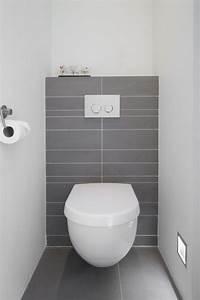 Fliesen Gäste Wc : fliesen wie flur einrichten pinterest toiletten moderne toilette und grau ~ Markanthonyermac.com Haus und Dekorationen