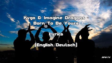 Born To Be Yours (lyrics [english