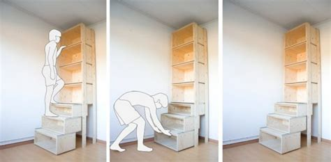 bookcase bed frame 53 insanely clever bedroom storage hacks and solutions
