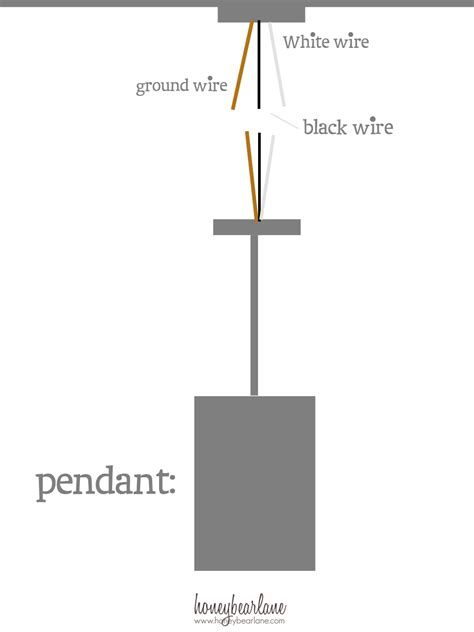 Pendant Switch Wiring Diagram by How To Install Island Pendants Honeybear