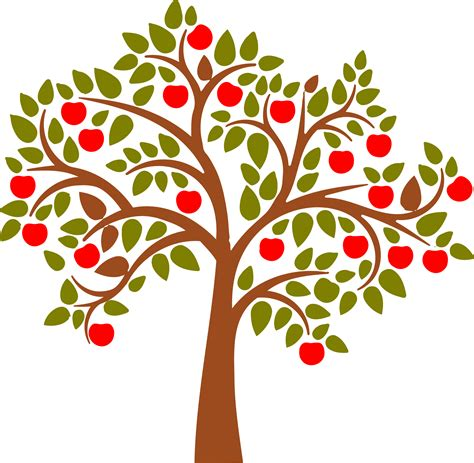 Apple Tree Clipart Apple Clipart Tre Pencil And In Color Apple Clipart Tre