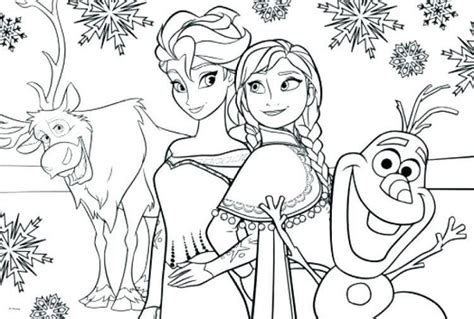 Select from 35602 printable coloring pages of cartoons, animals, nature, bible and many more. Full Size Frozen 2 Coloring Pages Elsa in 2020 | Frozen ...