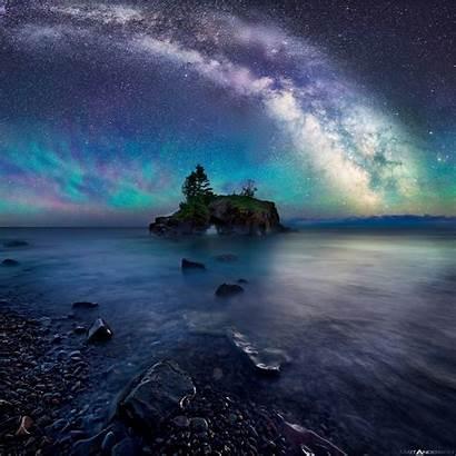Hollow Rock Milky Way Anderson Matt Night