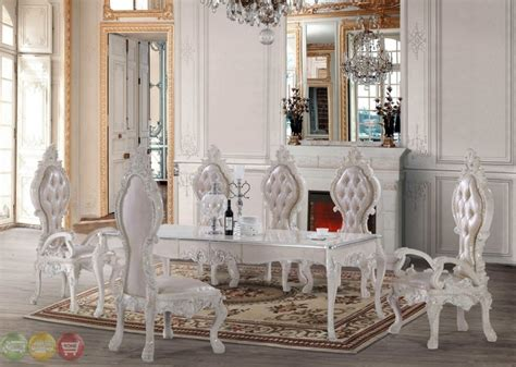 formal dining room table and chairs 716